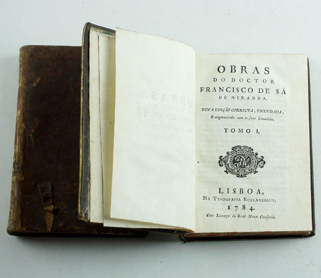 Obras do Doctor Francisco de Sá de Miranda 1784