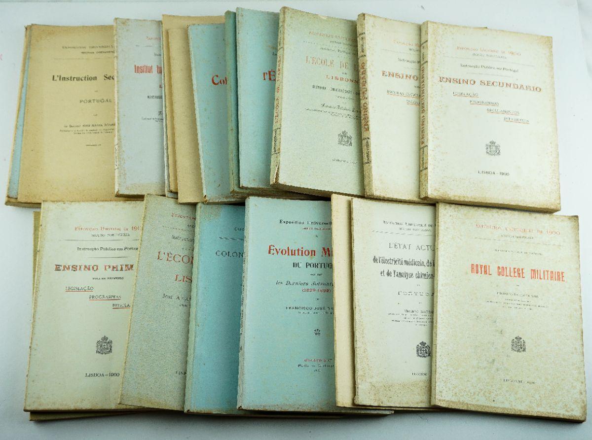 Publicações Reais Portuguesas da Exposição Universal de Paris 1900