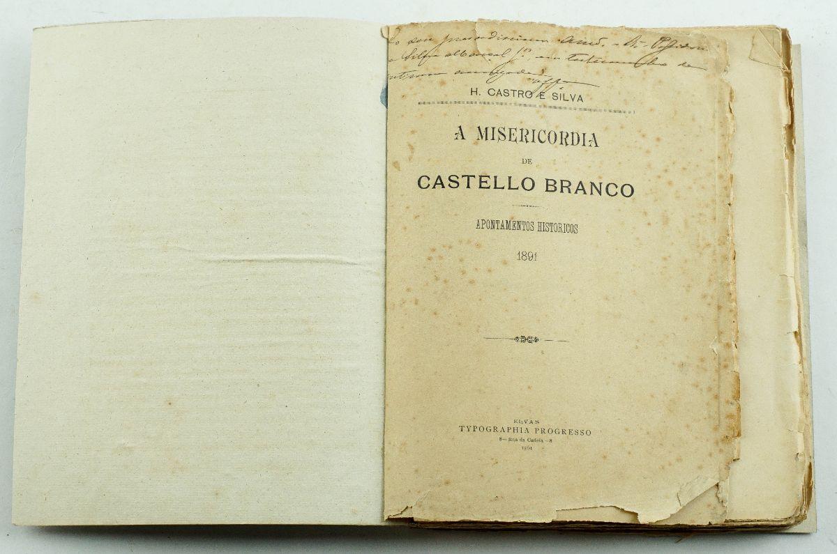 Raro livro sobre Castelo Branco