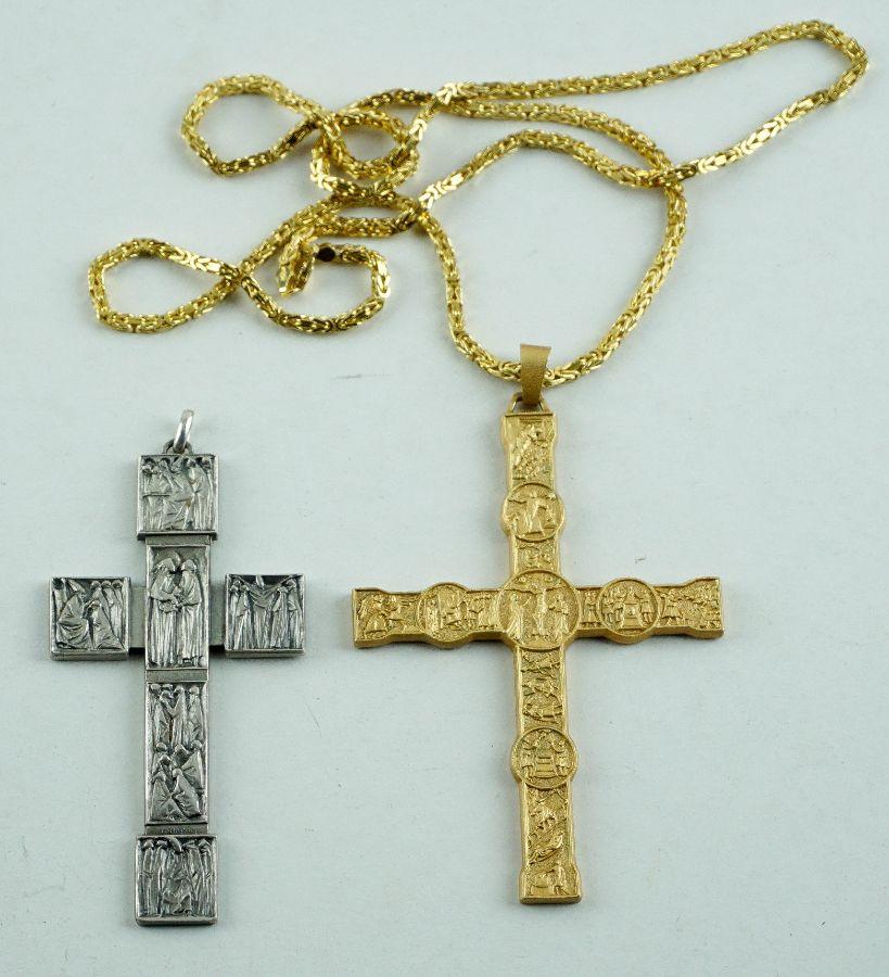 2 Cruzes com estojos do Vaticano