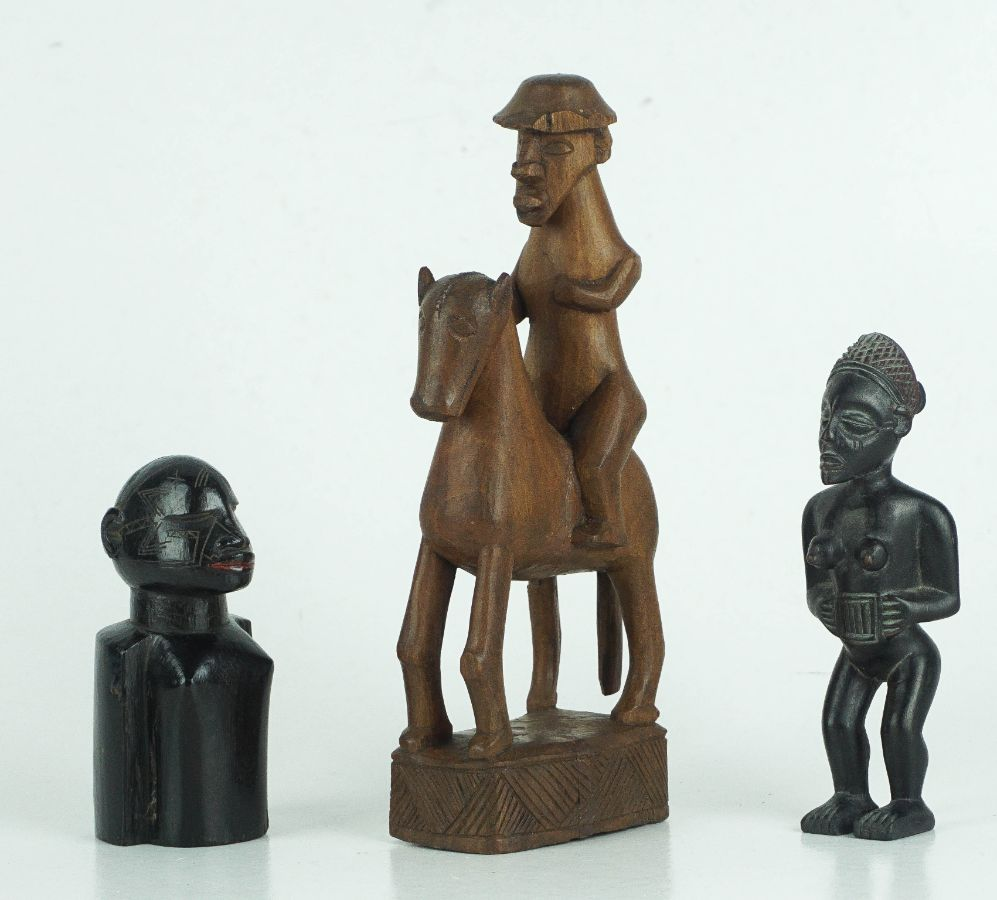 3 Esculturas Africanas