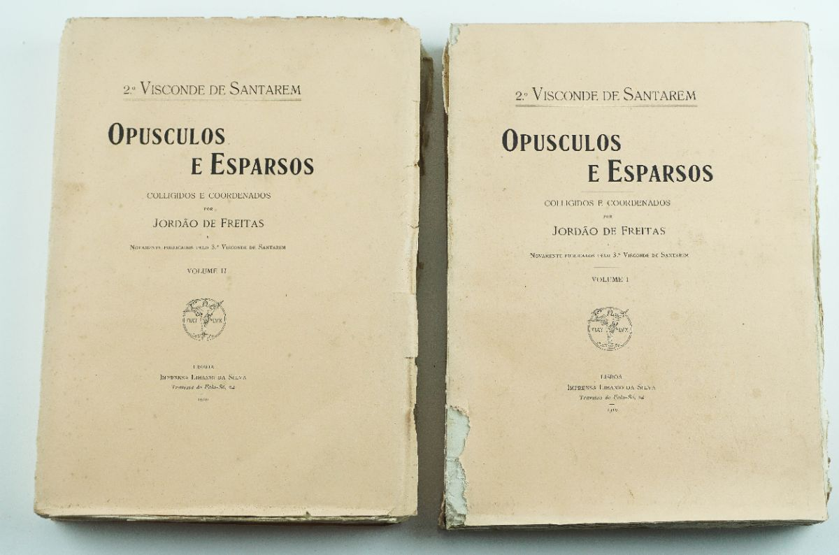 Opusculos e Esparsos – 2º Visconde de Santarém
