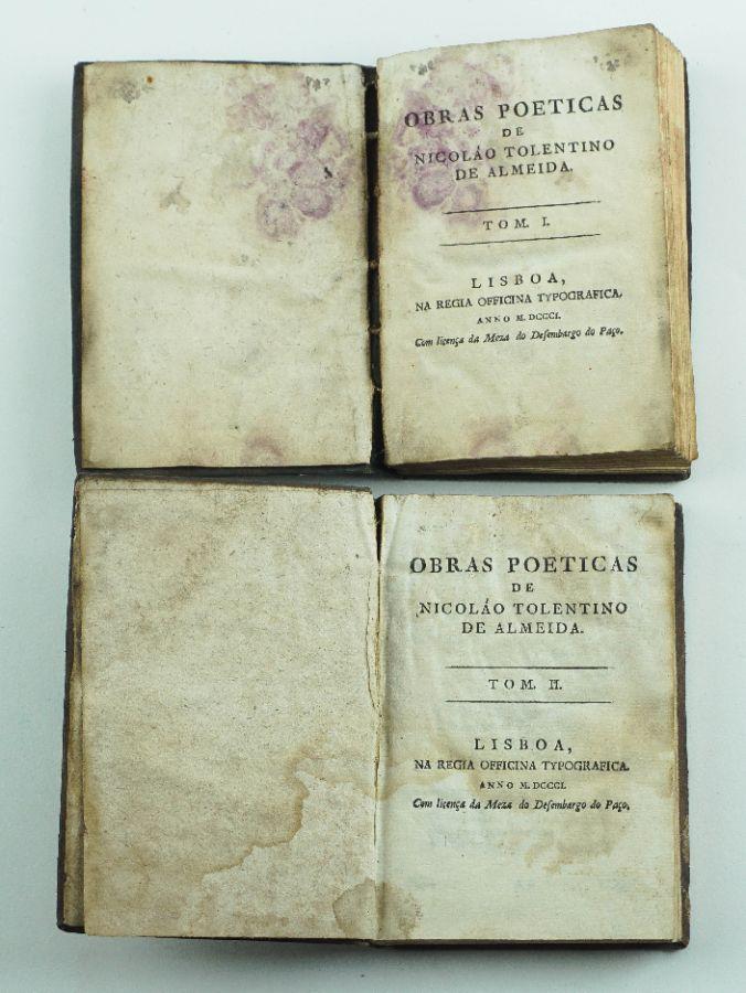Obras Poéticas de Nicolau Tolentino de Almeida