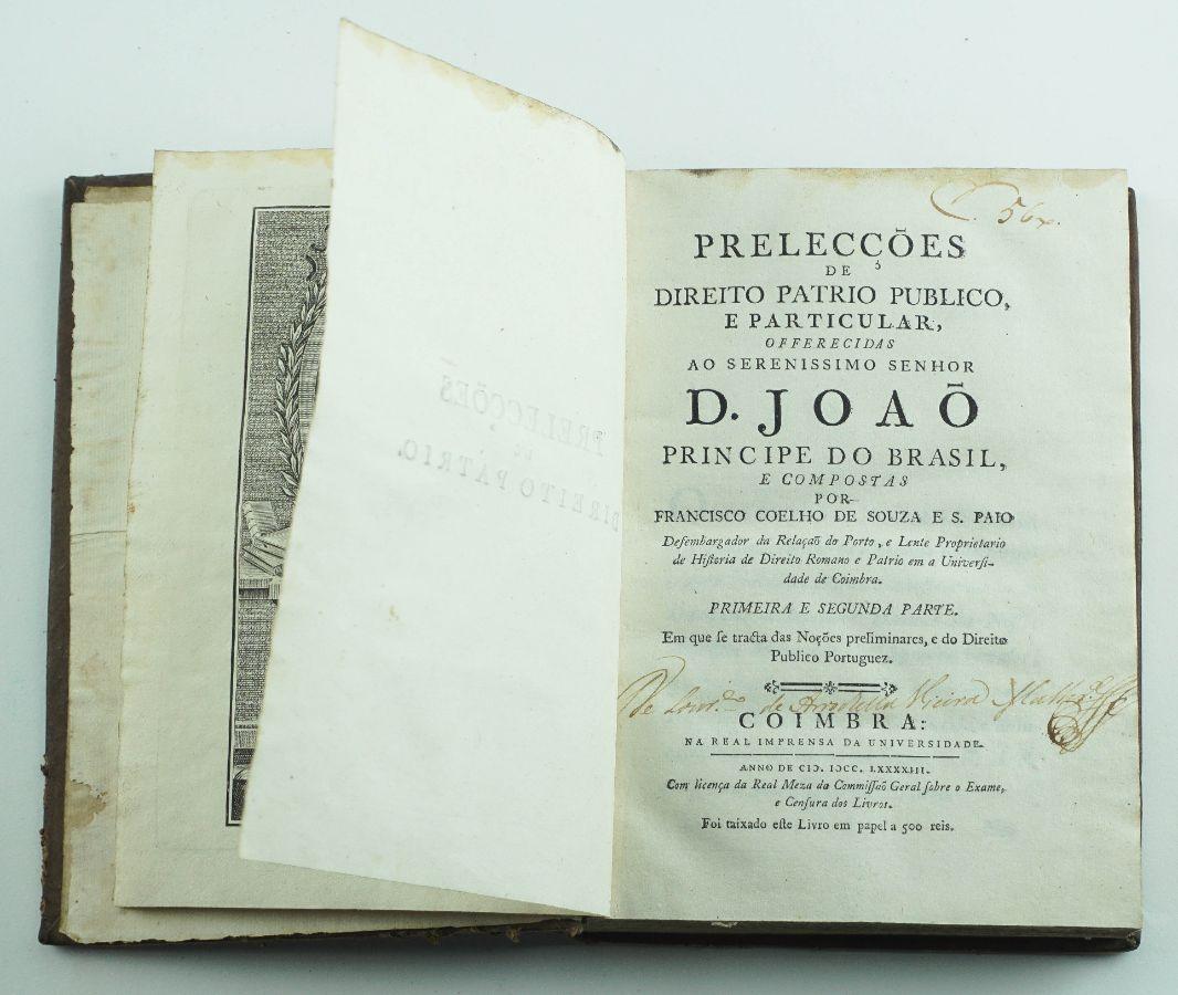 Prelecções de Direito Patrio, Publico e Particular