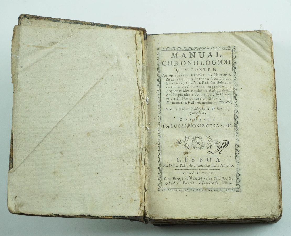 Manual Chronologico – 1788