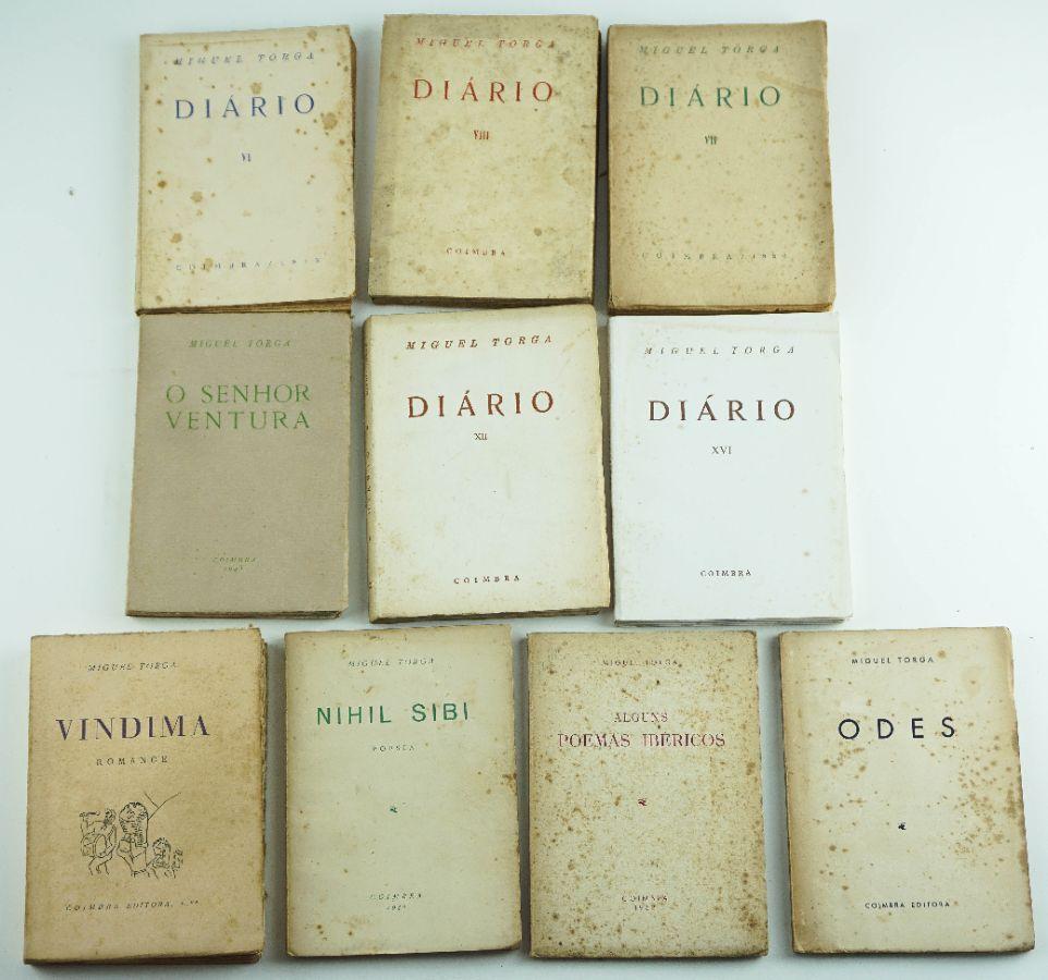 Miguel Torga – 10 livros em primeira edição