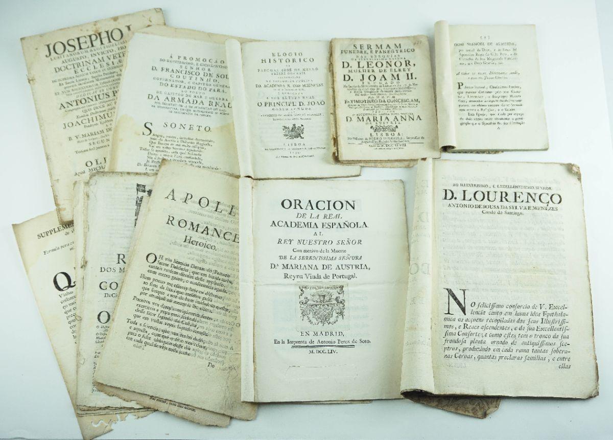 Publicações do sec XVIII