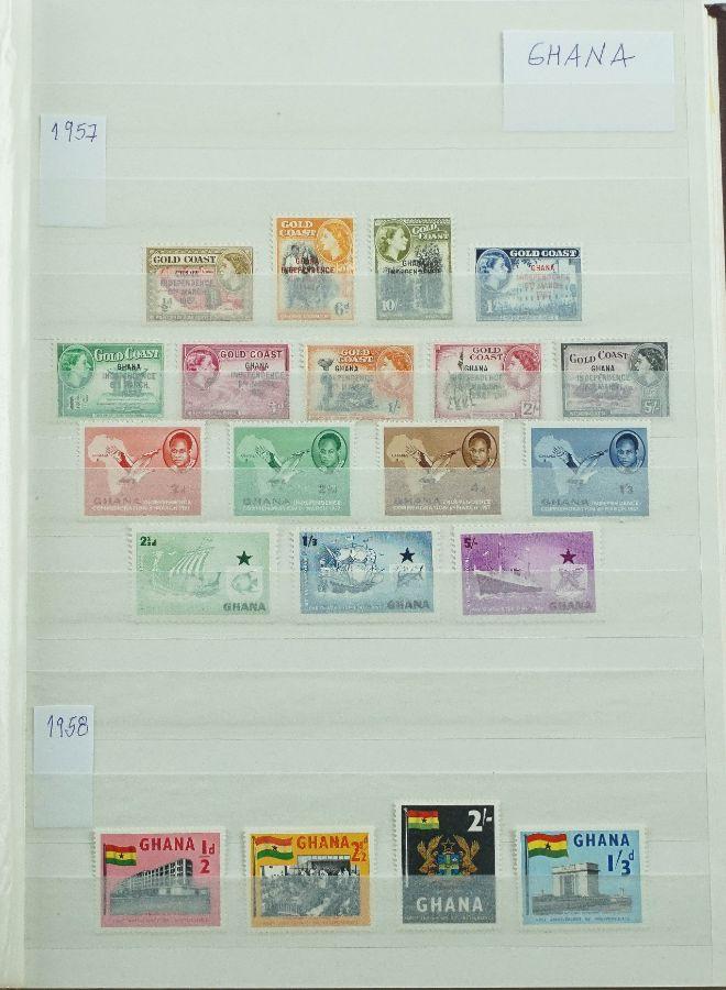 Filatelia Ghana Completa de 1957 a 1973