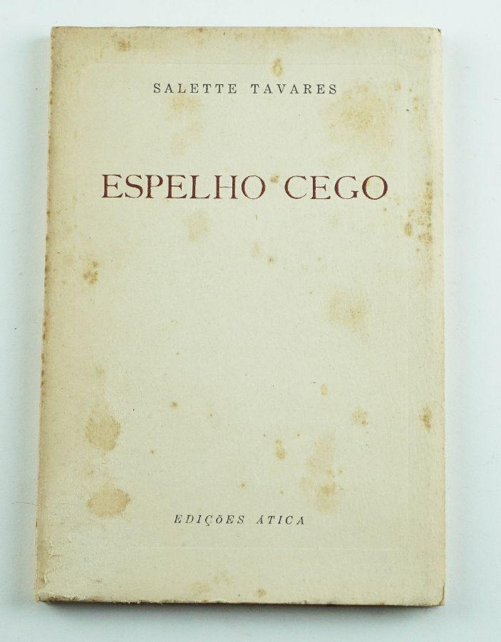 Salette Tavares – primeiro livro da autora – com dedicatória