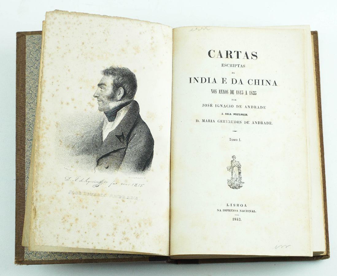 Cartas escriptas da Índia e da China nos annos de 1815 a 1835 (1843)