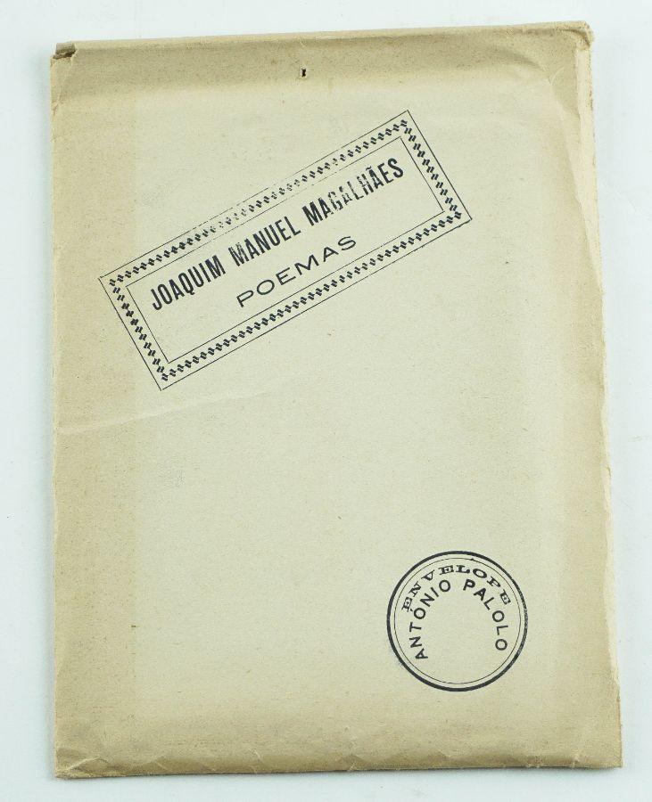 Joaquim Manuel Magalhães – primeiro livro do autor