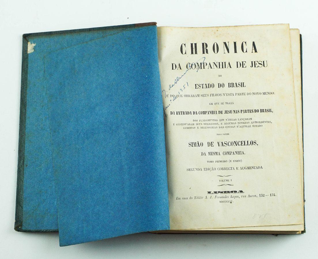 Chronica da Companhia de Jesus do Estado do Brasil ( 1865)