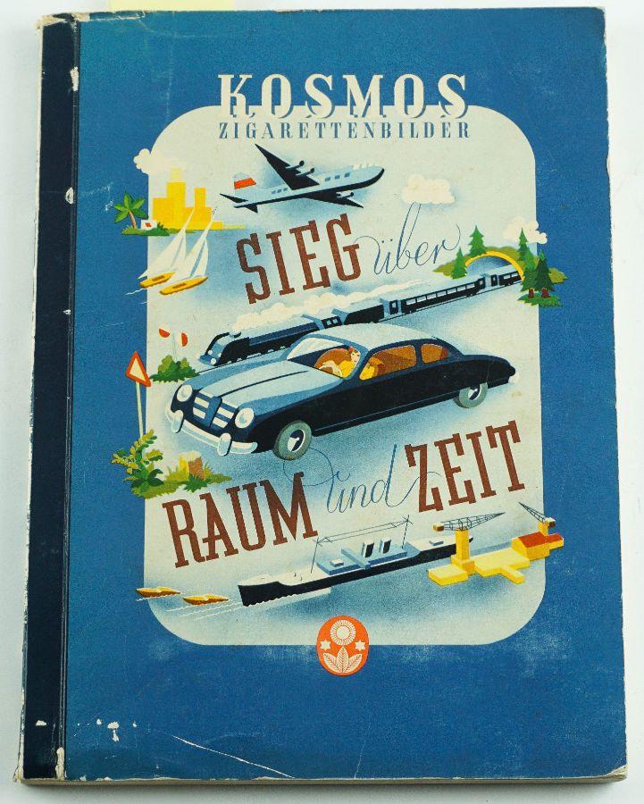 Coleção de Cromos Vintage Alemanha editada em 1954