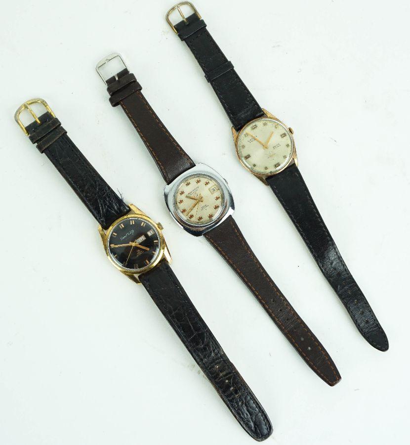 3 Relógios de pulso masculinos