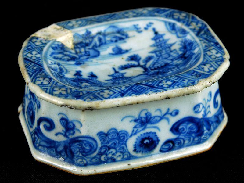 Saleiro em Porcelana Chinesa