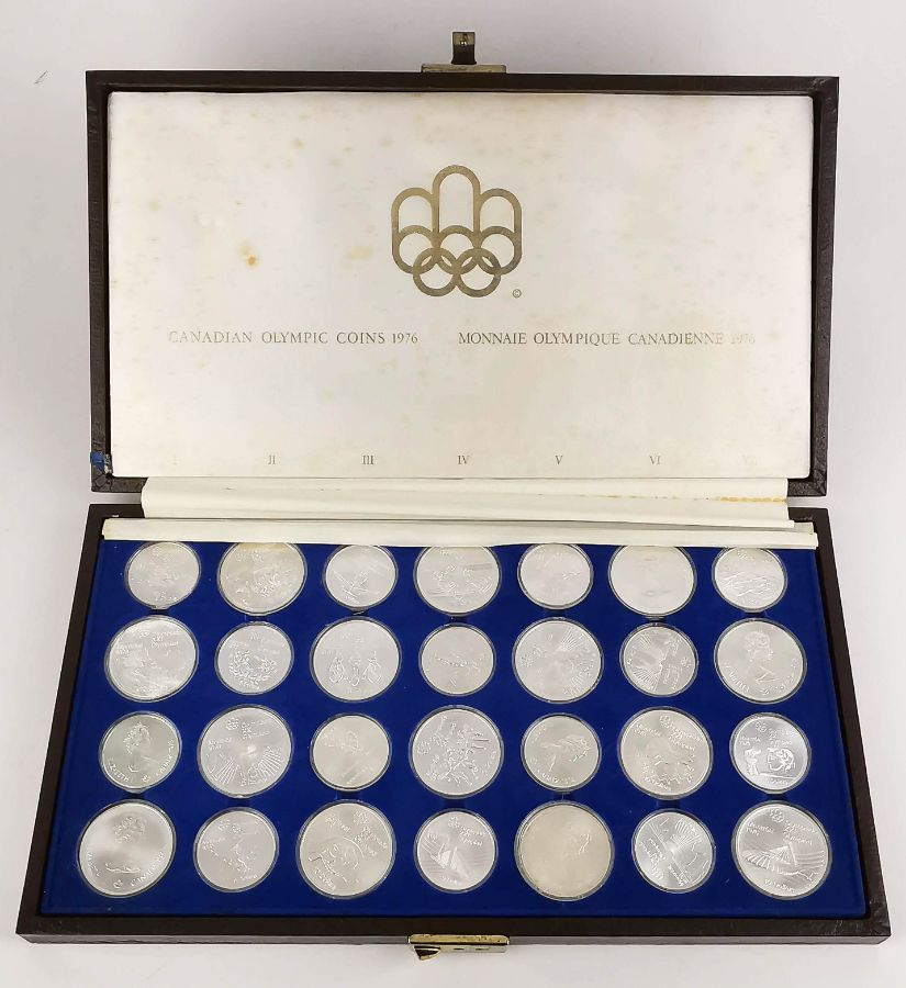 Canadian Olympic Coins 1976