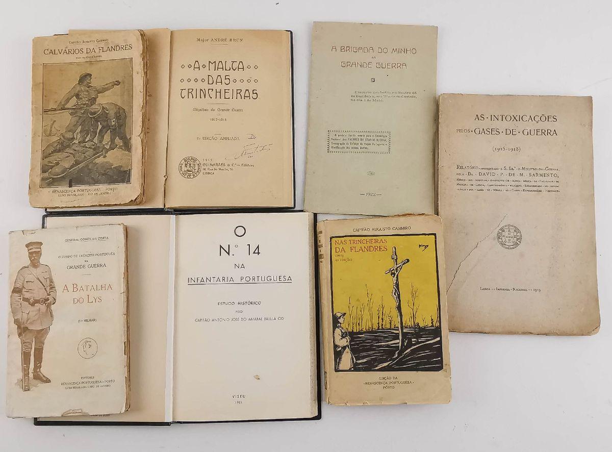 Livros sobre Portugal na 1ª guerra mundial