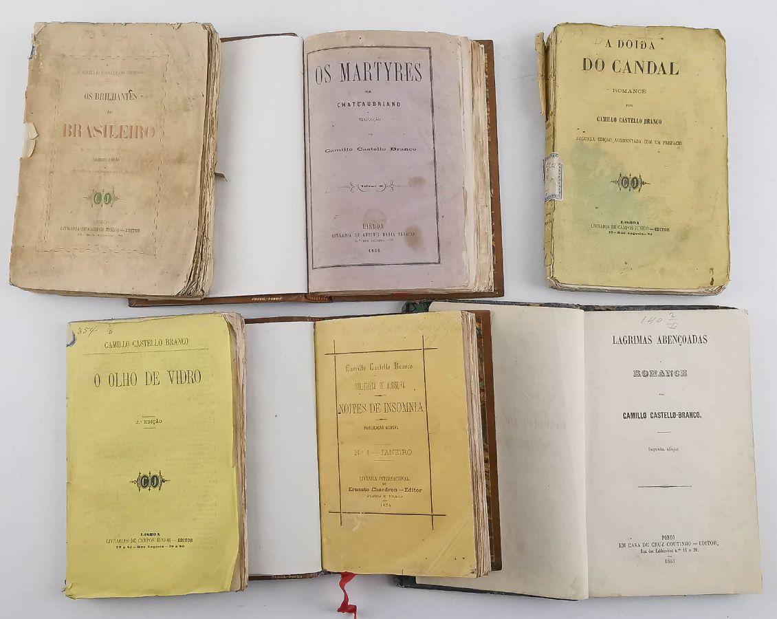 Camilo Castelo Branco – 1ª edição e outros