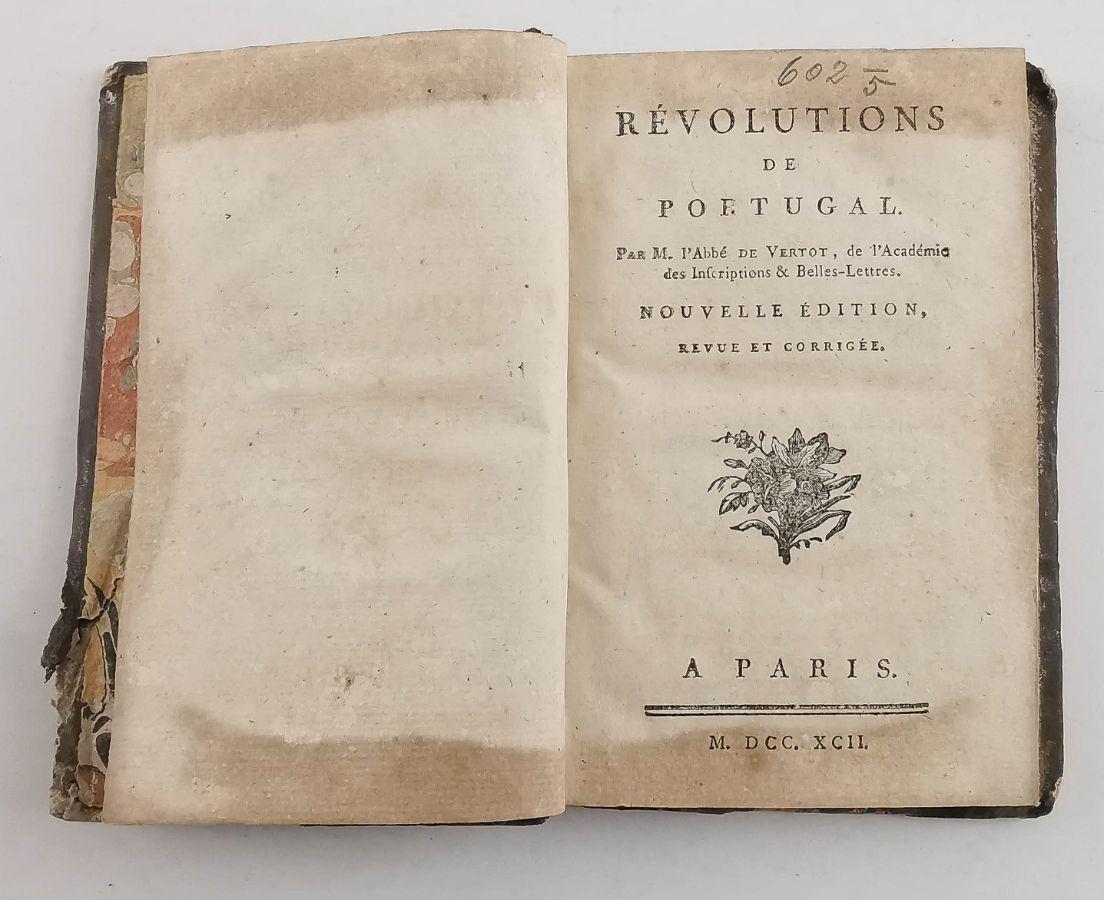 Revolutions de Portugal - 1792
