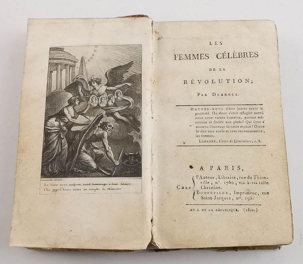 Les Femmes Célebres de La Révolution – 1802