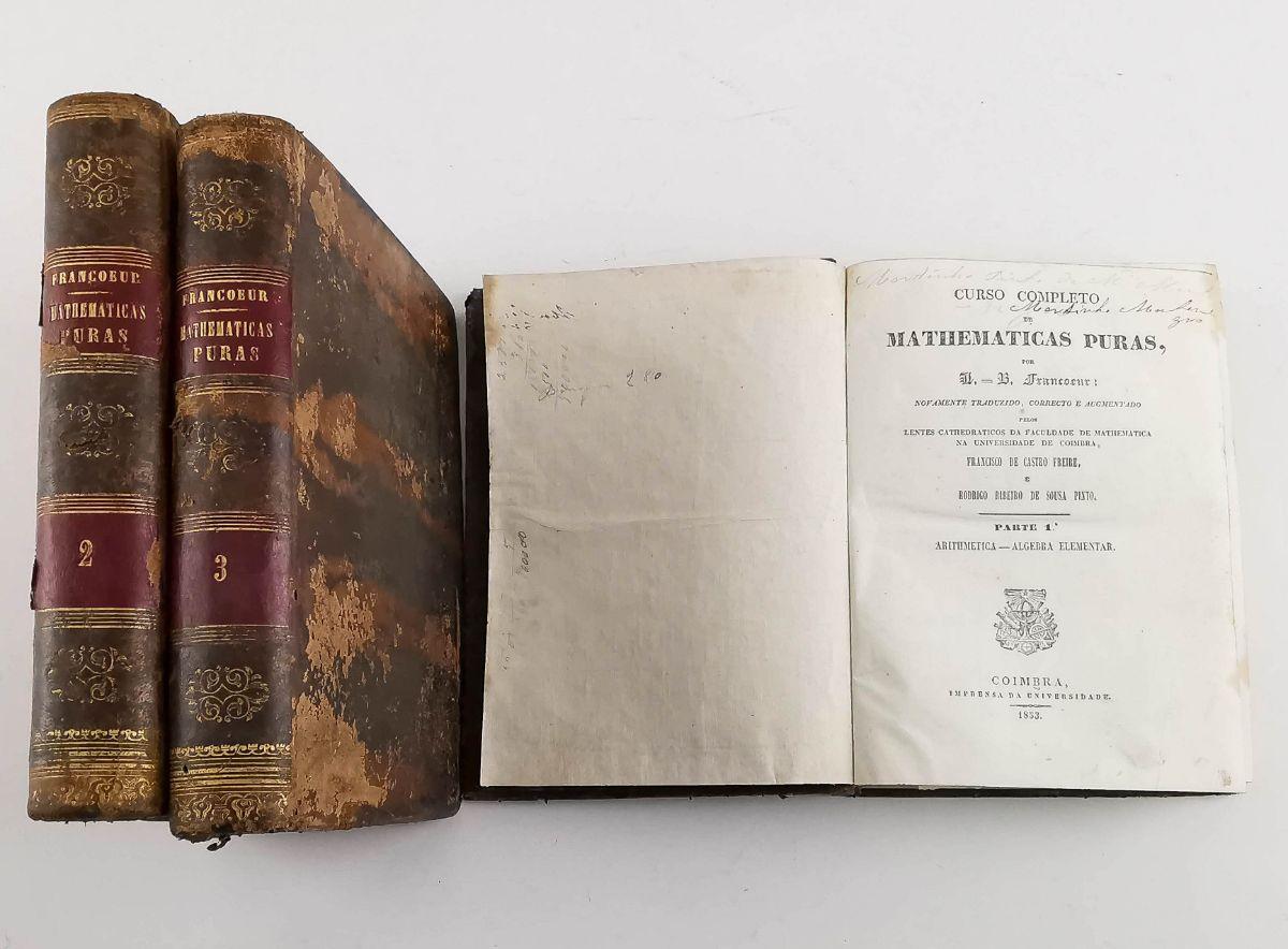 Curso Completo de Mathematicas Puras – 1853
