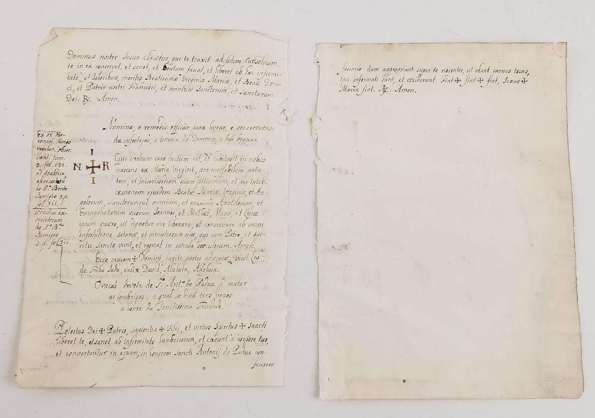 Manuscrito sobre o Exorcismo