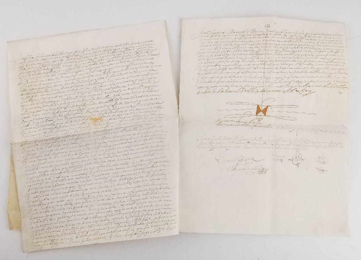 Pergaminho Alcobaça - 1672