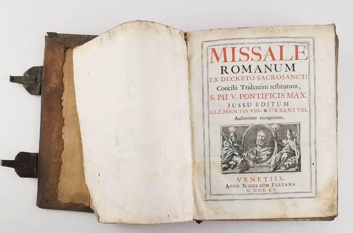 Missale Romanum – 1755