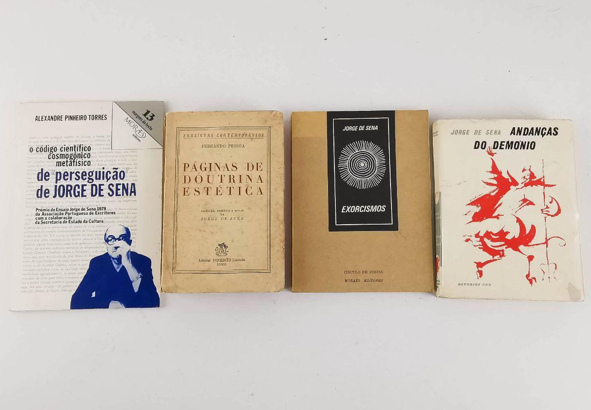 Jorge de Sena – Primeiras edições
