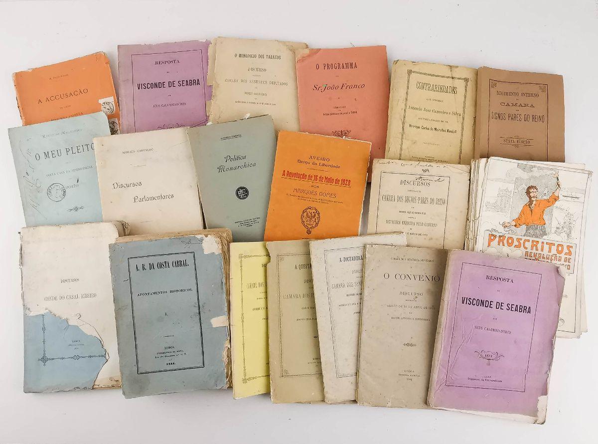 Colecção de folhetos políticos séc. XIX e XX