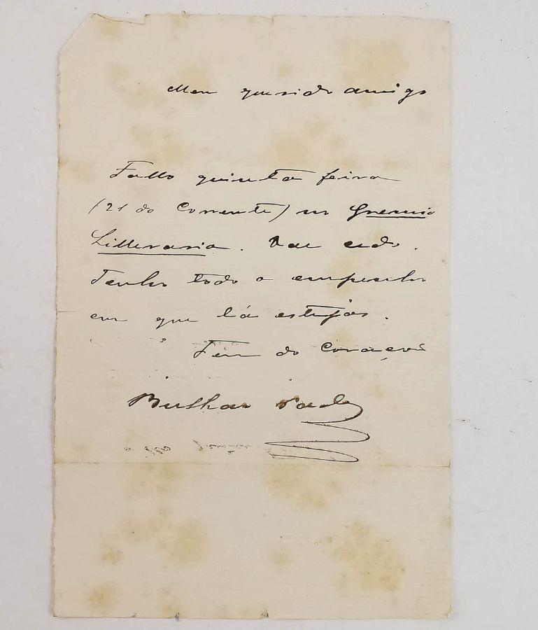 Manuscrito Bulhão Pato