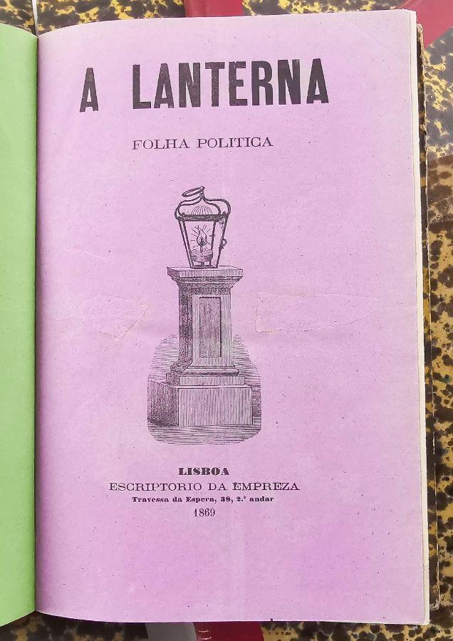 A Lanterna - Folha Política (1869-1873)
