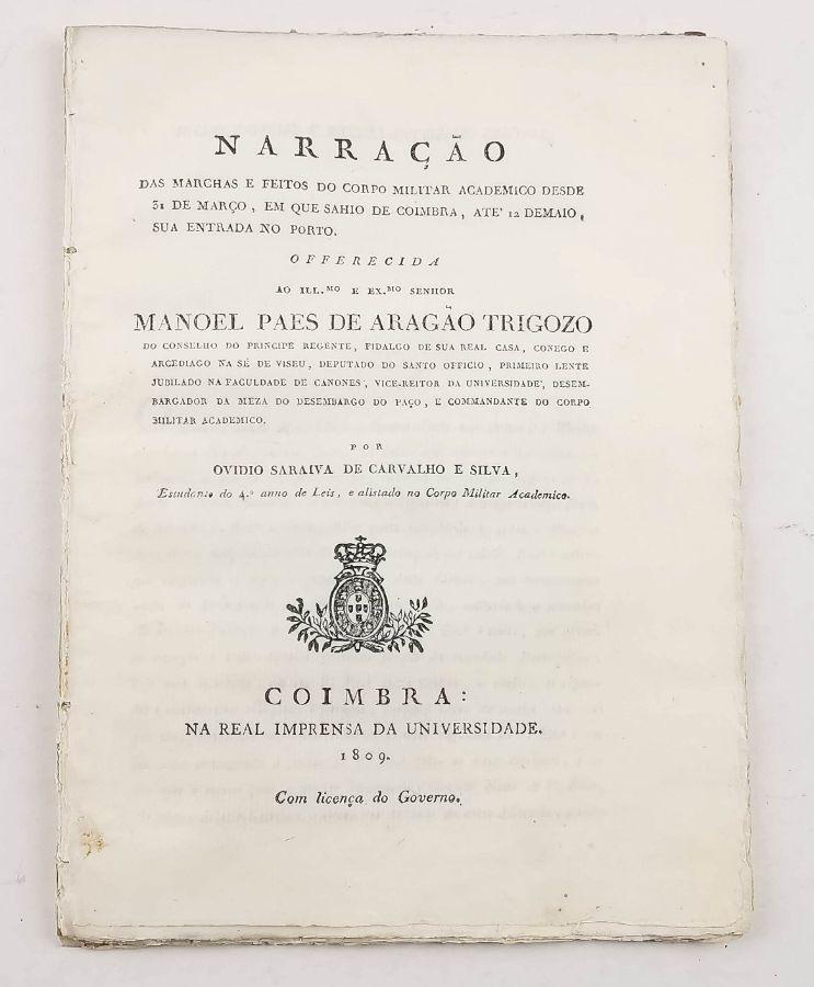 Invasões Francesas – Corpo Militar Académico de Coimbra (1808)