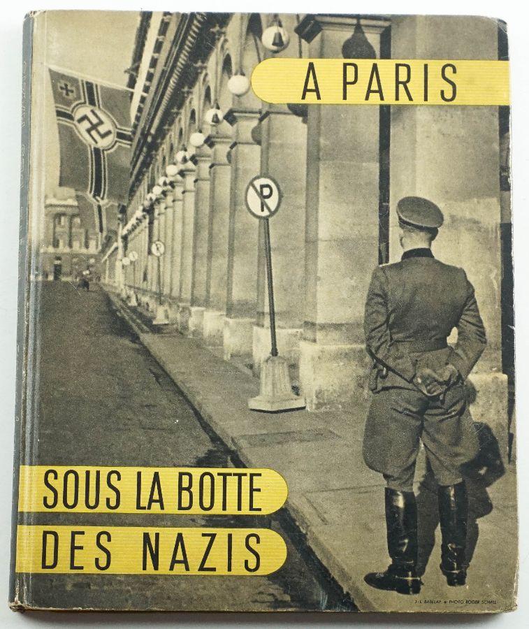 A Paris sous la botte des nazis.