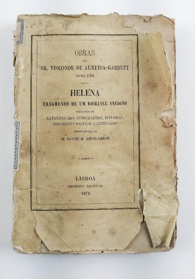 Almeida Garrett – Primeira edição