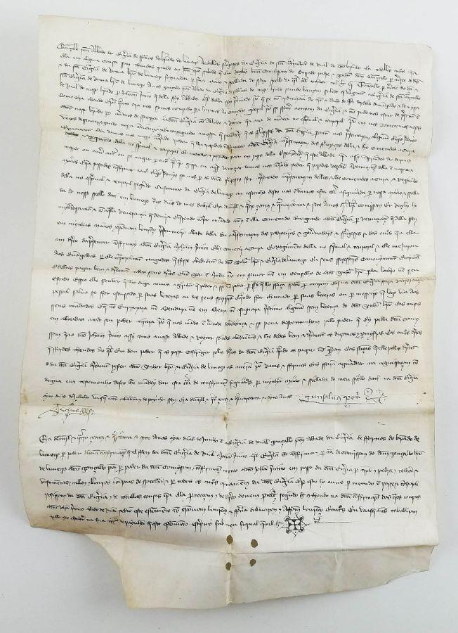 Pergaminho – 1447