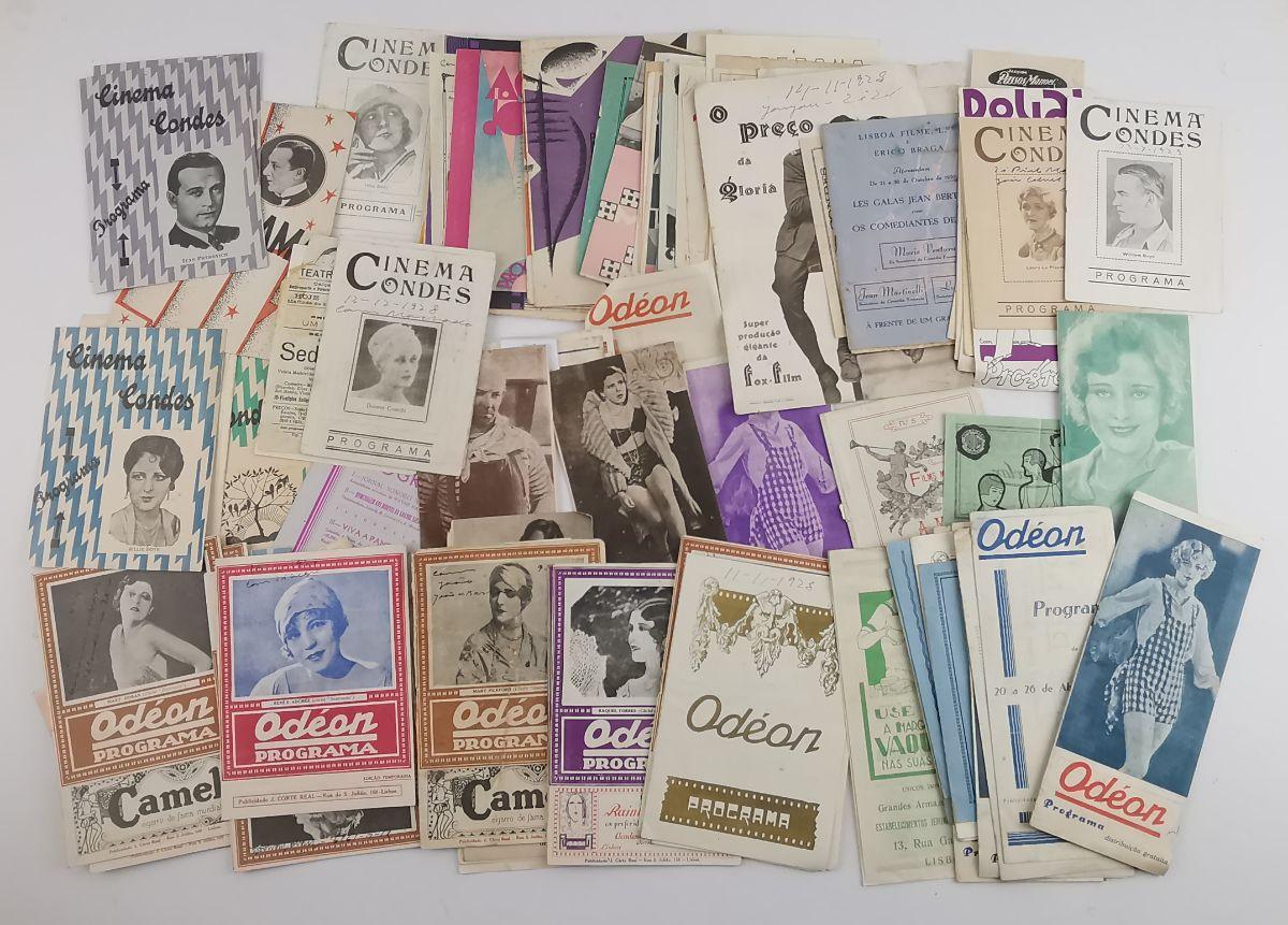 Colecção de Programas de Cinema anos 20 e 30