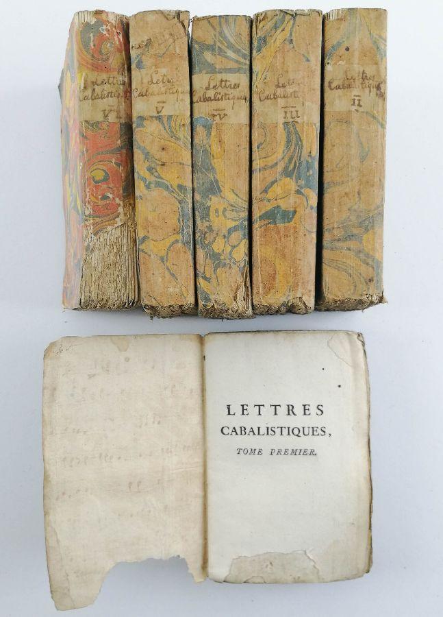 Lettres Cabalistiques ou Correspondance Philosophique 1741