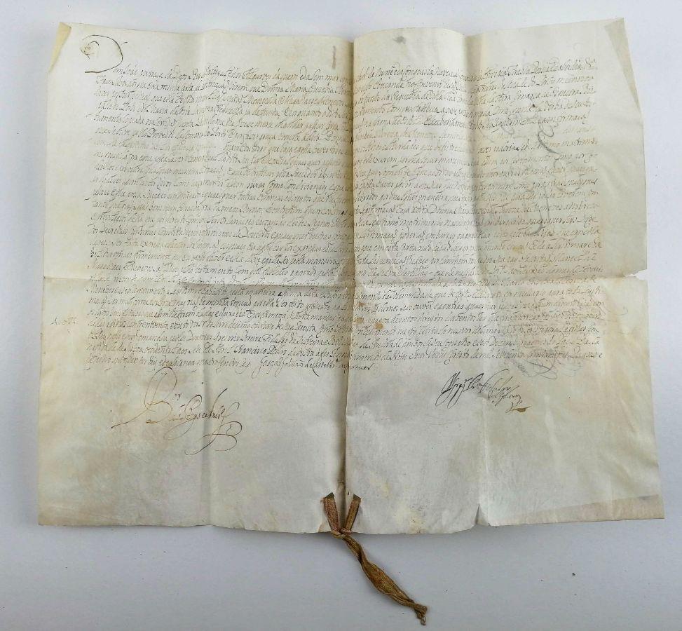 Manuscrito, Pedido de legitimação ao Rei D. João V, 1732
