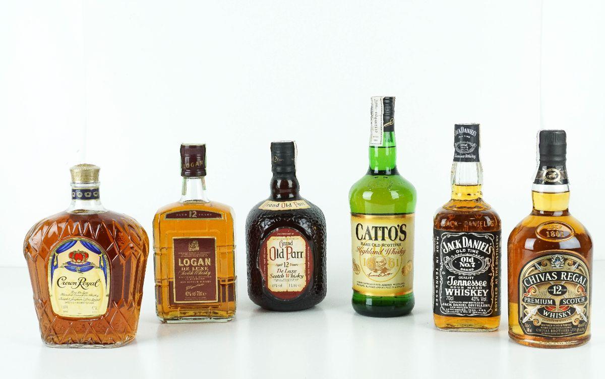 6 Garrafas de Whisky