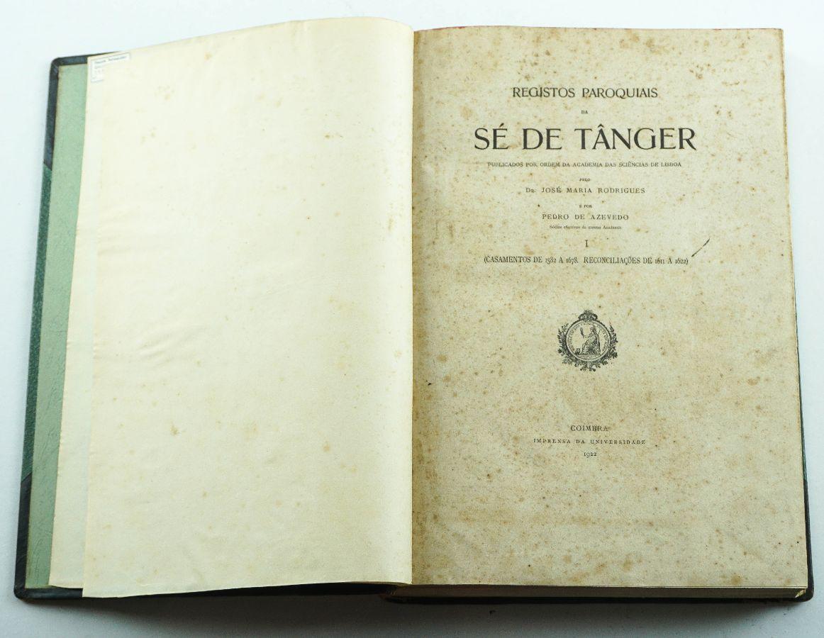 REGISTOS PAROQUIAIS DA SÉ DE TÂNGER