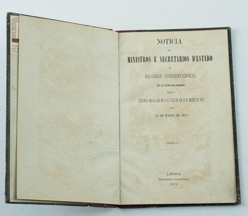 Ministros do Regime Constitucional (1830-1871)