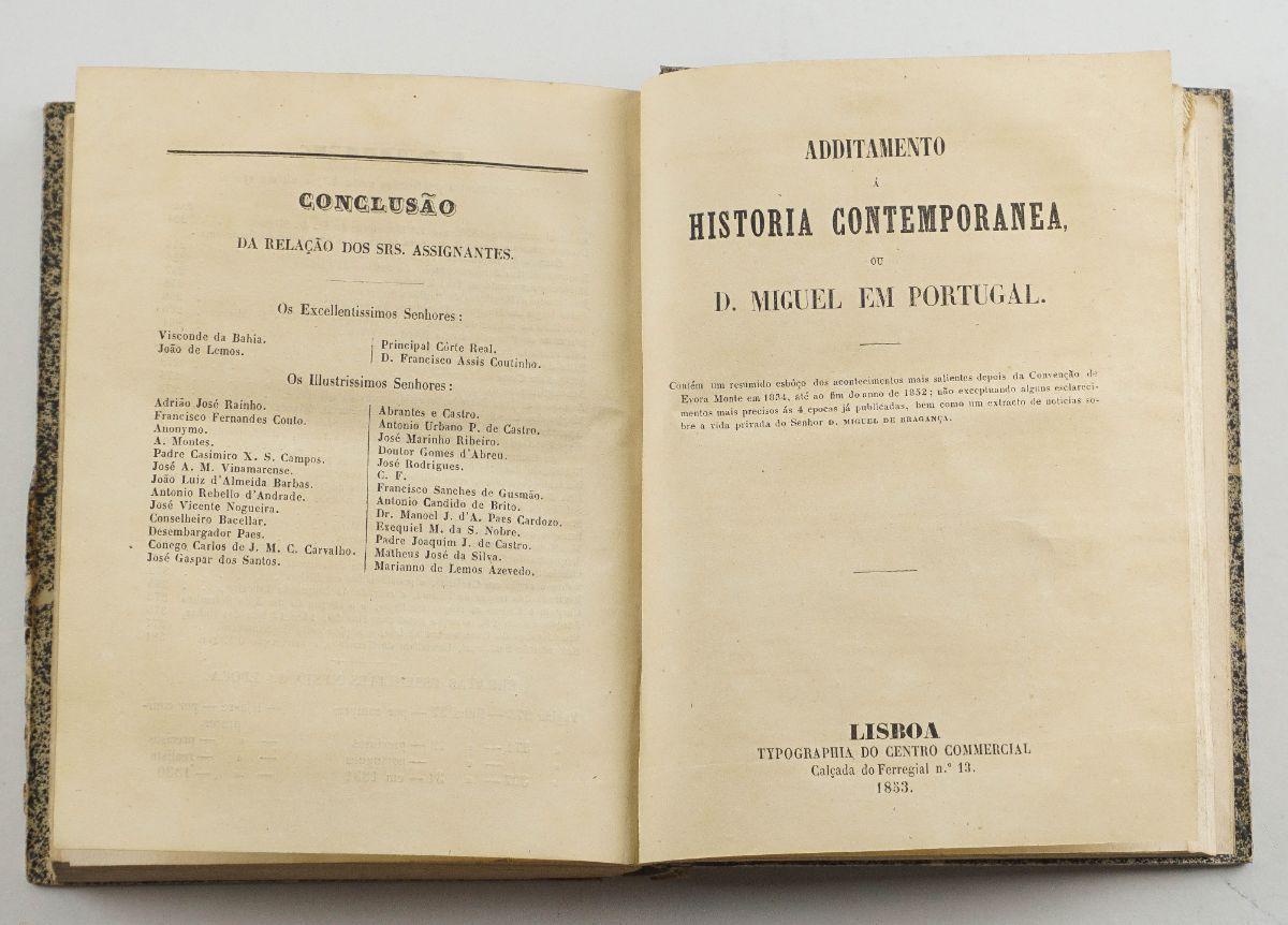Uma História de Portugal (1820-1834) na óptica miguelista