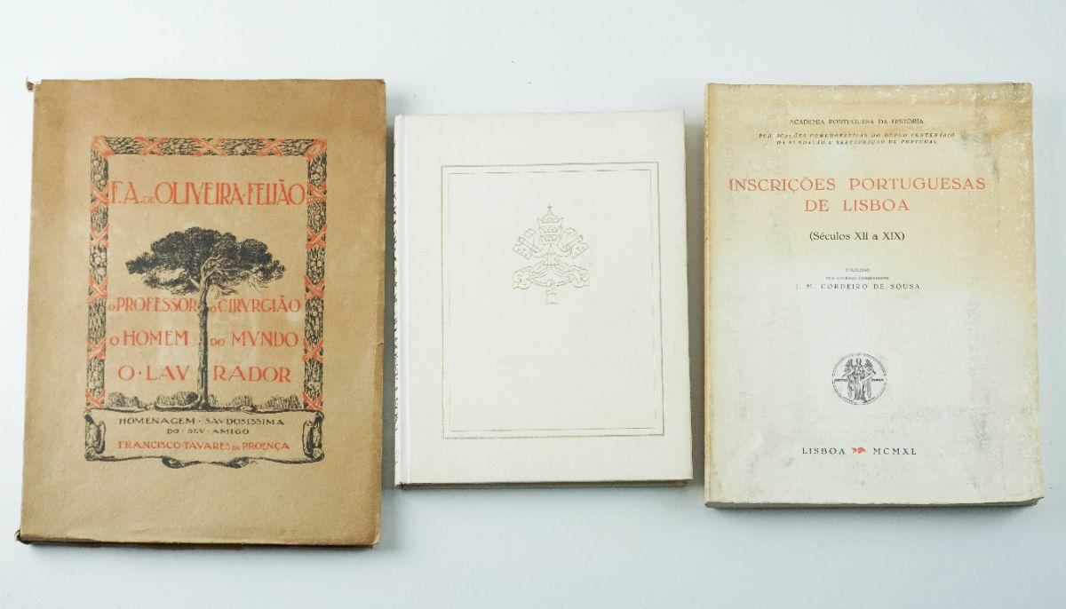 3 Livros diversos
