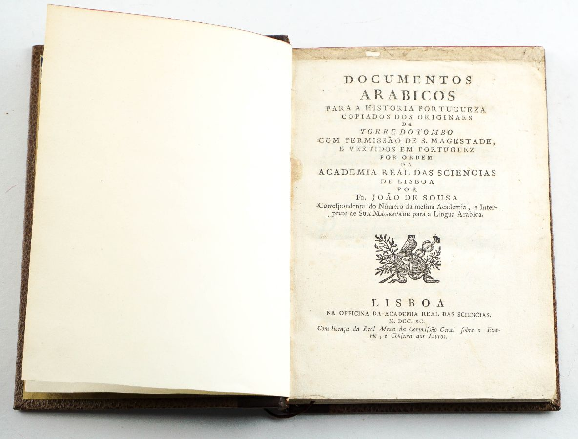 Documentos Arabicos para a História Portugueza (1790)