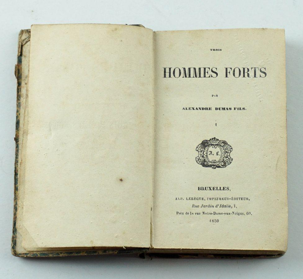 Alexandre Dumas Fils – Primeira edição