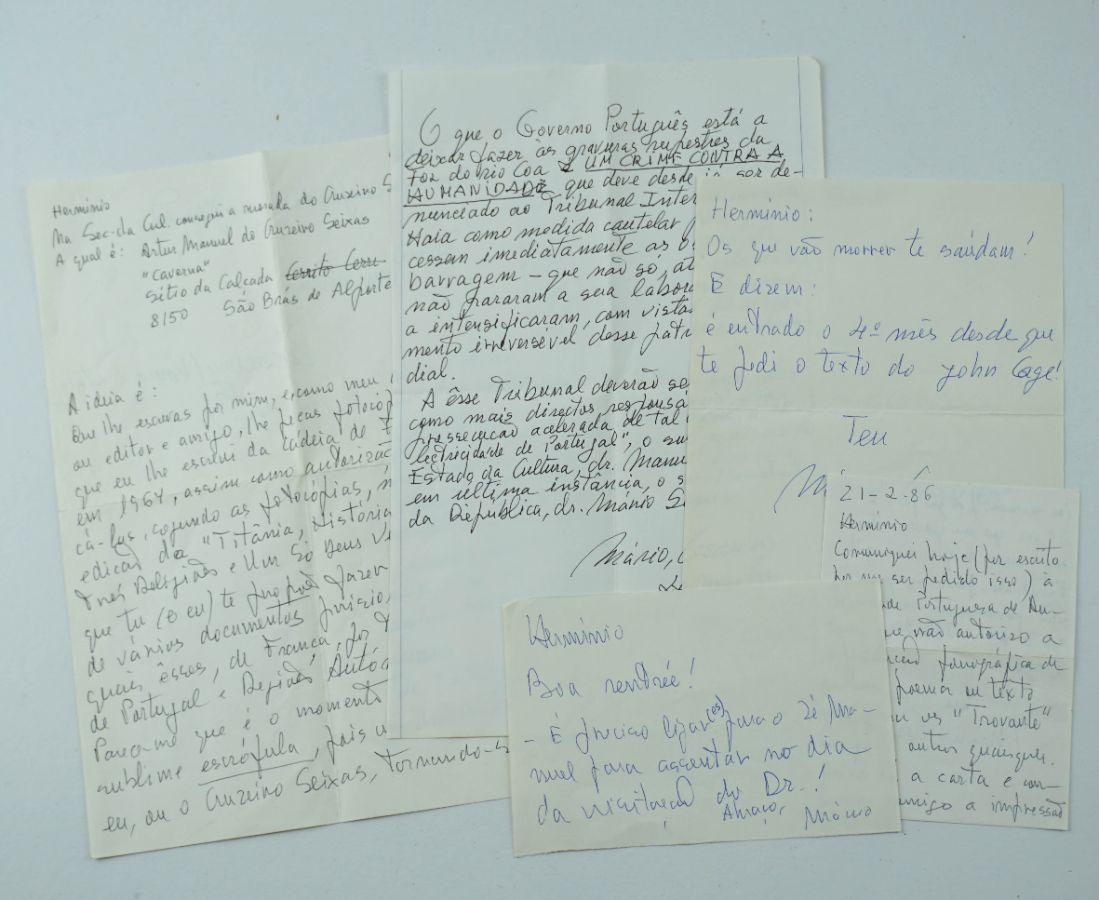 Manuscritos Mário Cesariny