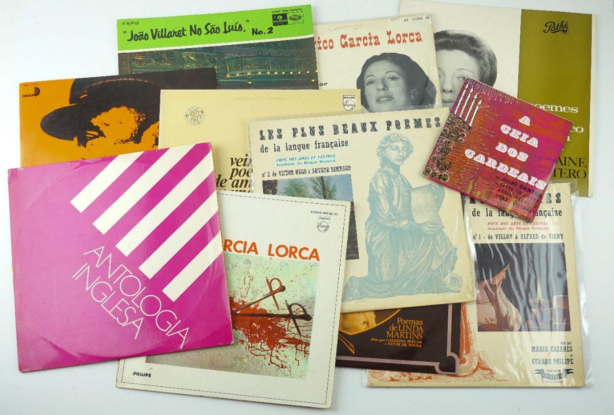 Colecção de Discos Poesia falada