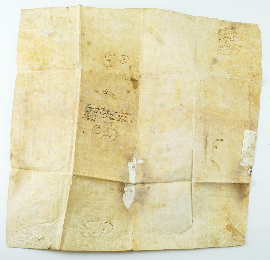 Pergaminho de grandes dimensões, Porto e Santa Maria da Feira,1565
