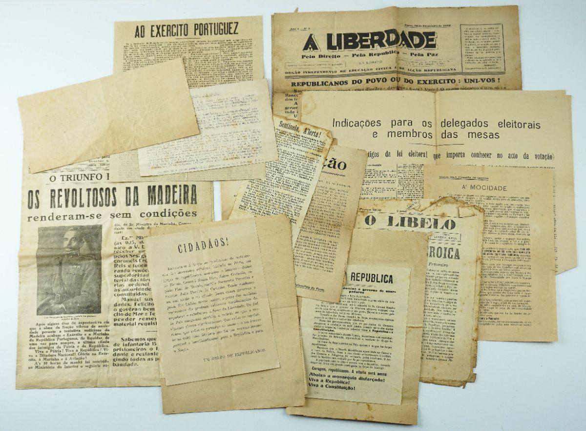 Manifestos e publicações Republicanas anos 20/30